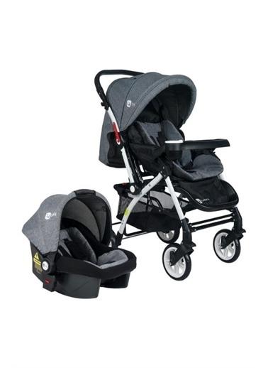 4 Baby Active Travel Çift Yönlü Alüminyum Bebek Arabası Four Baby Ty Renkli